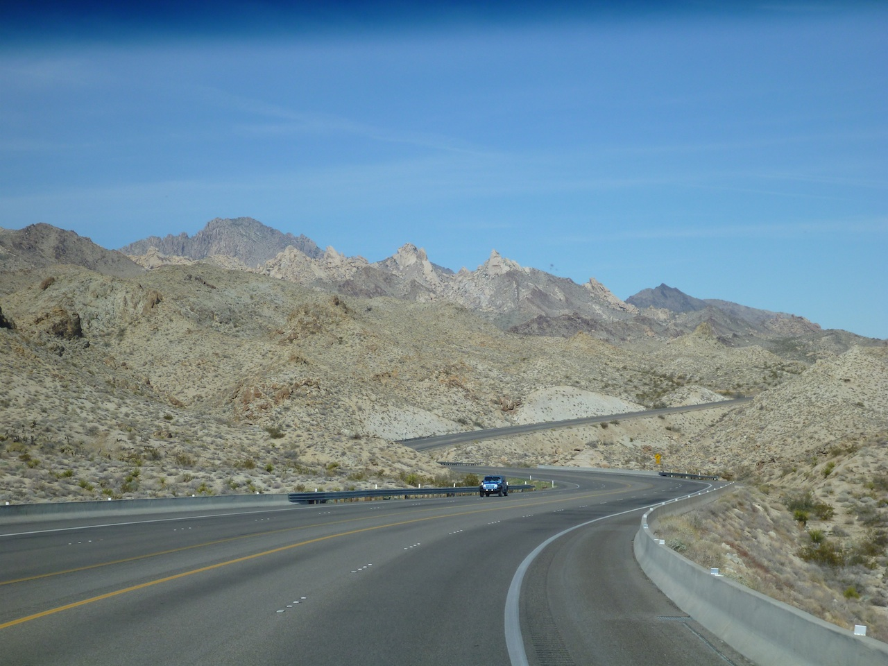 Route 95 Southbound, Heading Towards The Mohave Valley, AZ
