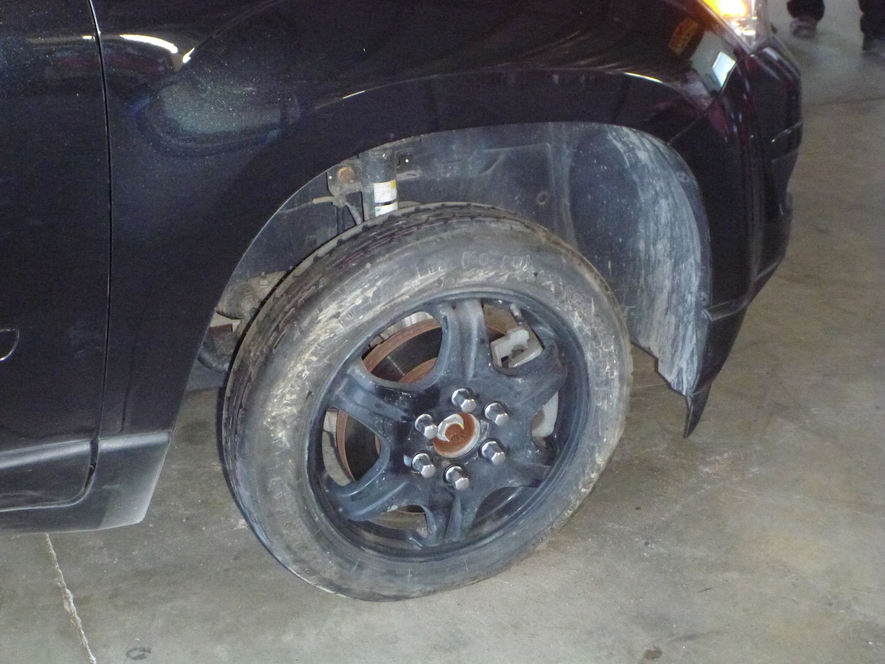 Spare Tire Went On For Three Days