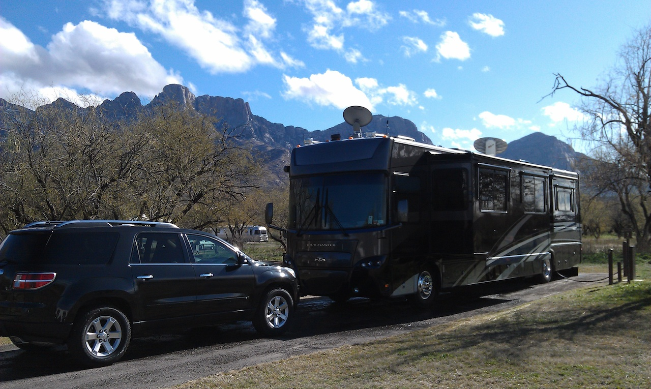 Our Site At Catalina State Park