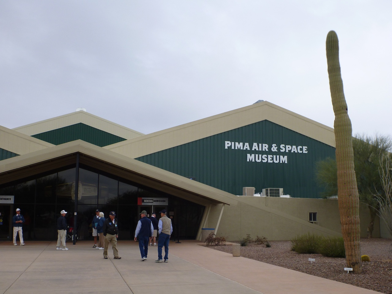 PIMA Air and Space Museum In Tucson, AZ