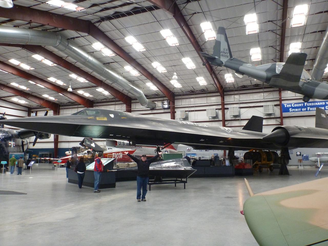 David And The SR-17 Blackbird