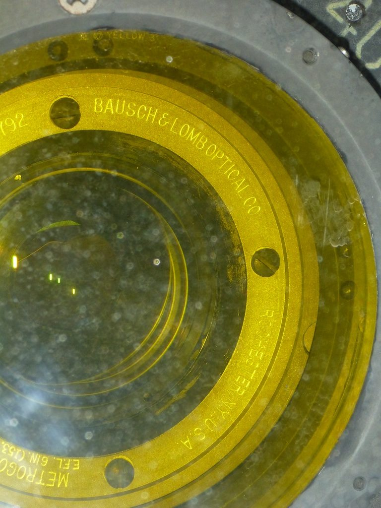 The Lens From Bauch And Lomb Made In Rochester, NY