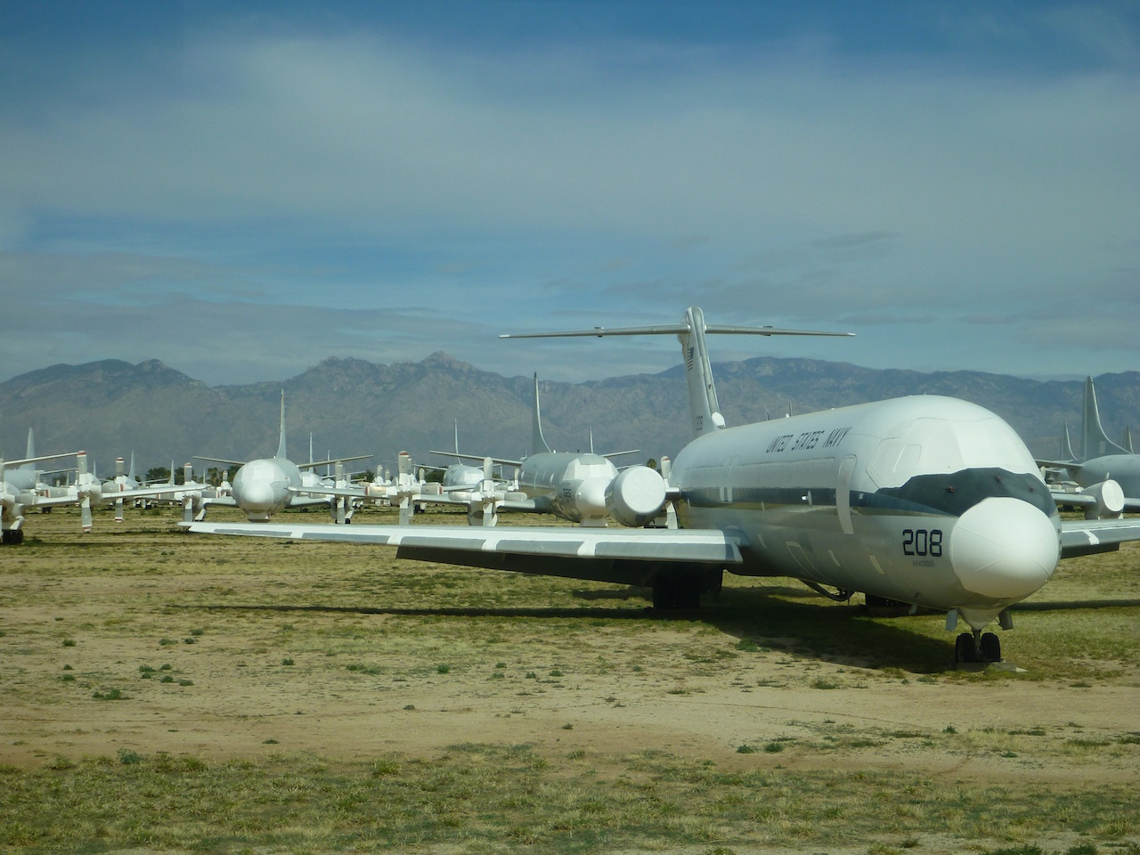 Planes In The Boneyard