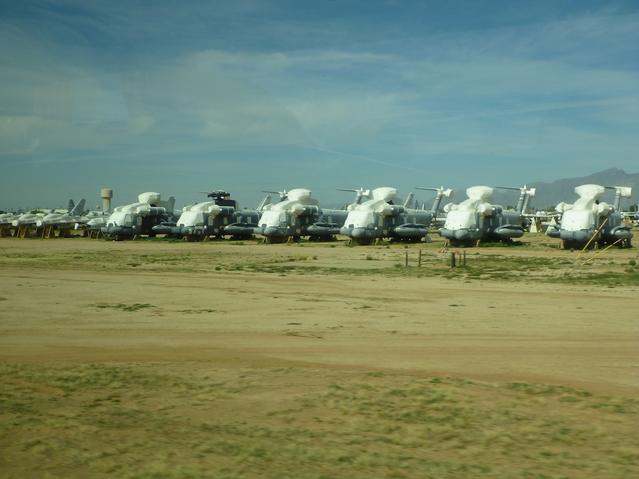 Helicopters In The Boneyard