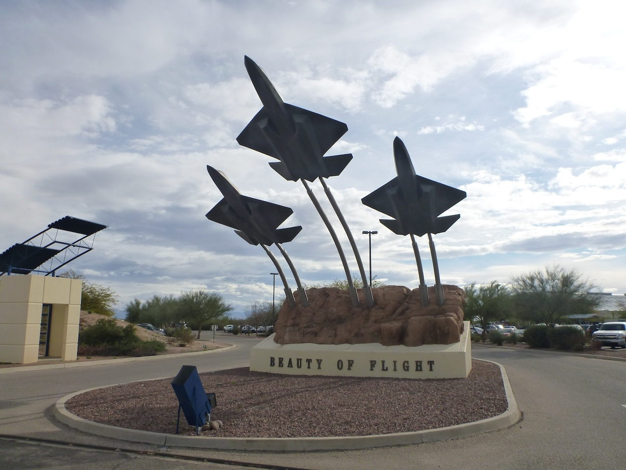 Entrance To The PIMA Air and Space Museum In Tucson, AZ