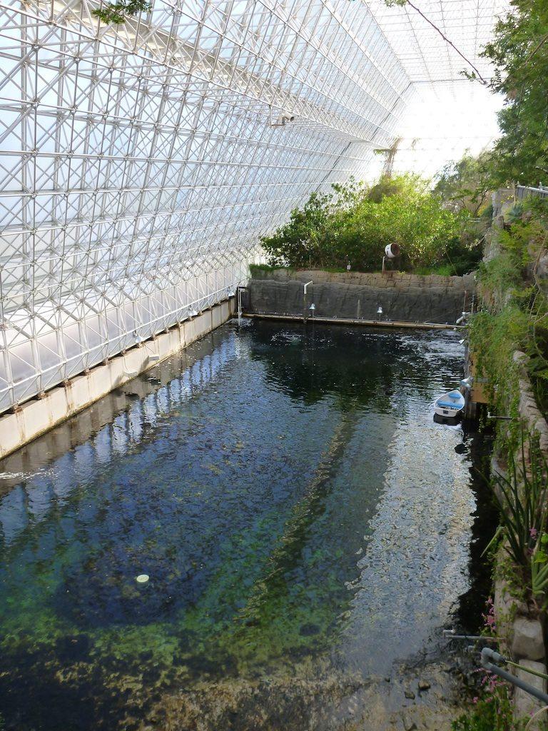 The Ocean In The BioSphere 2 Building