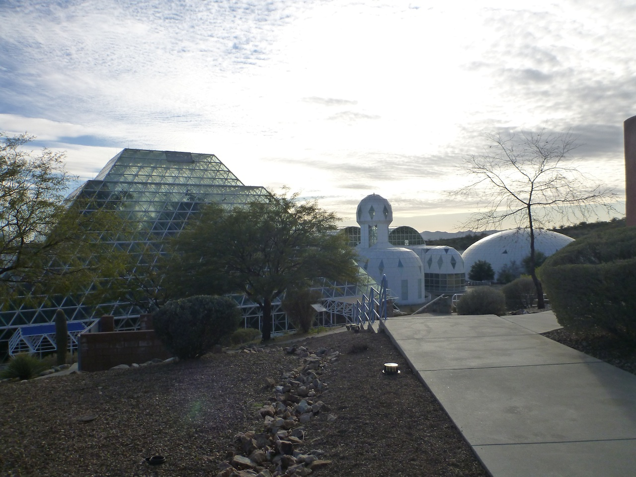 The BioSphere 2 In Oro Valley, AZ