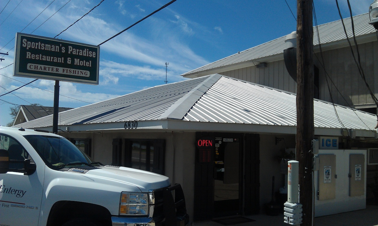 Sportsman's Paradise Restaurant on The Road Down To Cocodrie, LA
