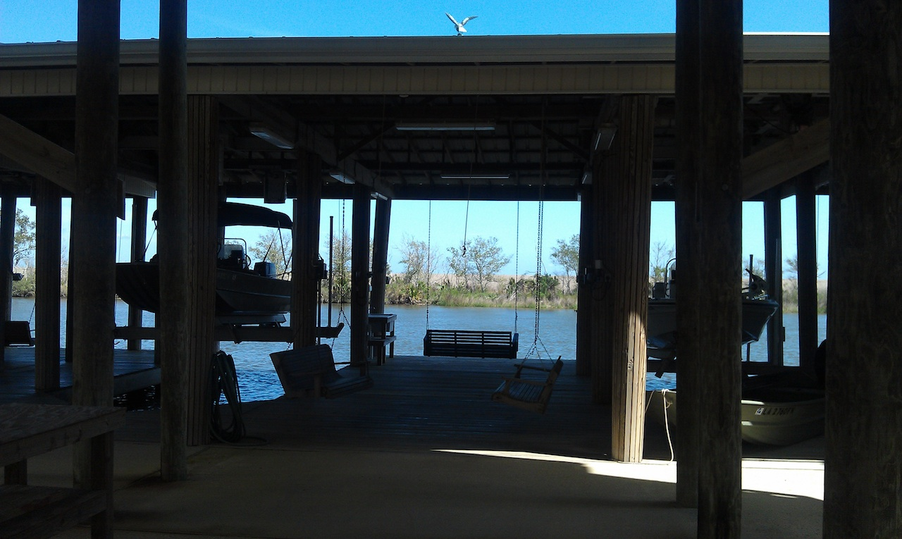 The Lower Level Porch