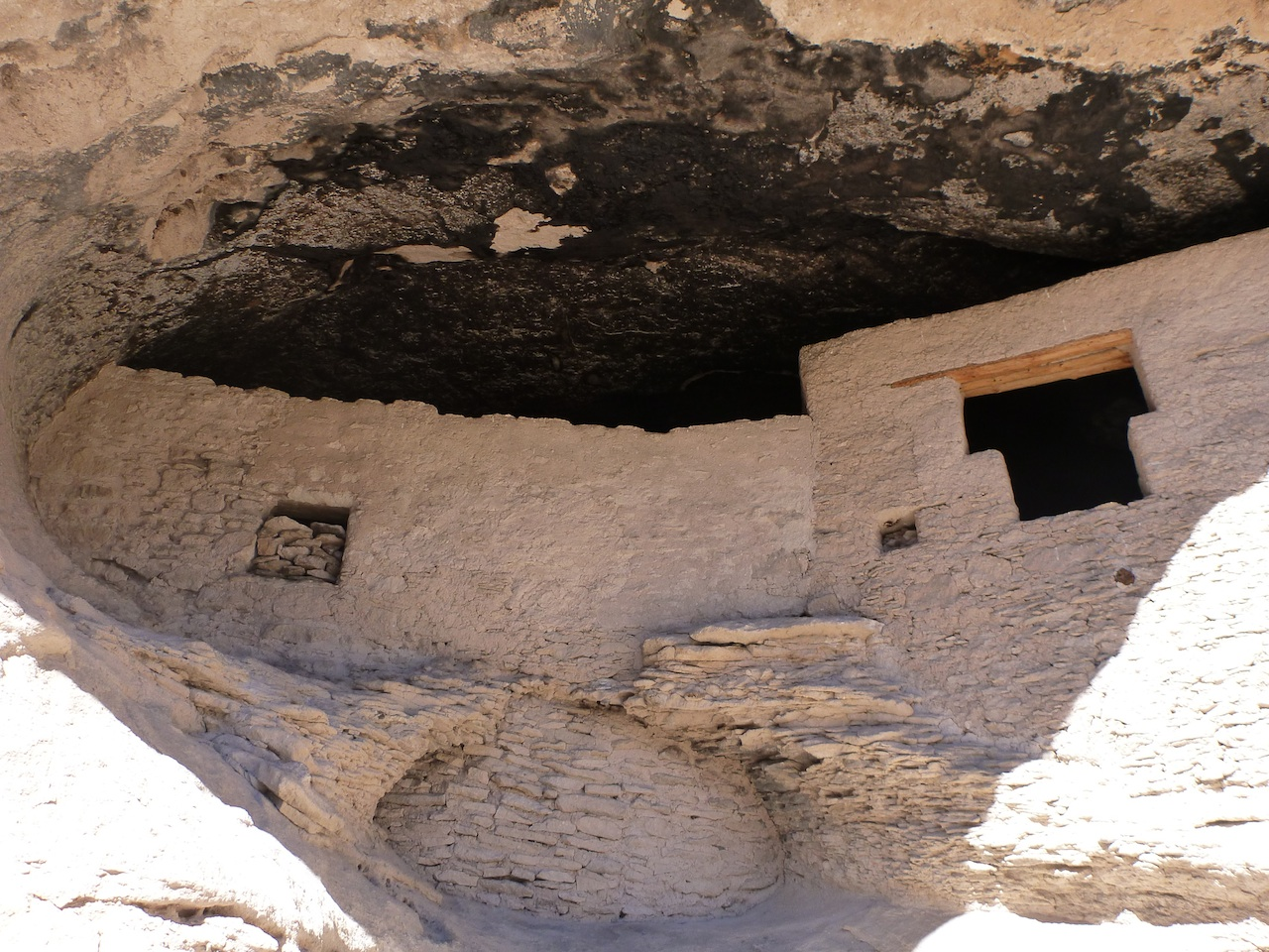 The Gila Cliff Dwellings