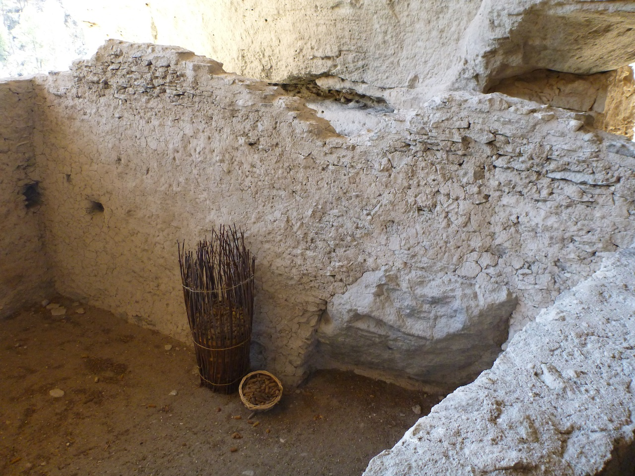 Their Is Actually A Basket That Was Found At The Site Filled With Ancient Corn That The Mogollon's Used To Farm.