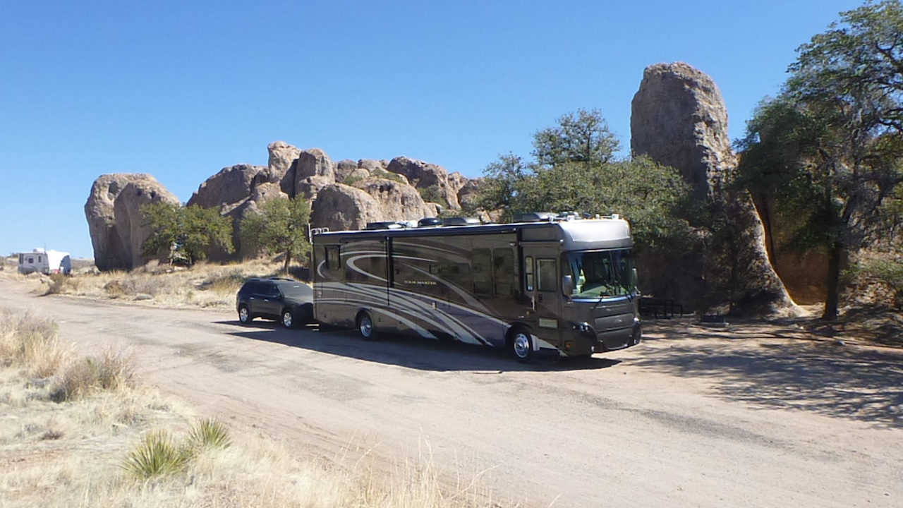 Our Coach In The City Of Rocks State Park