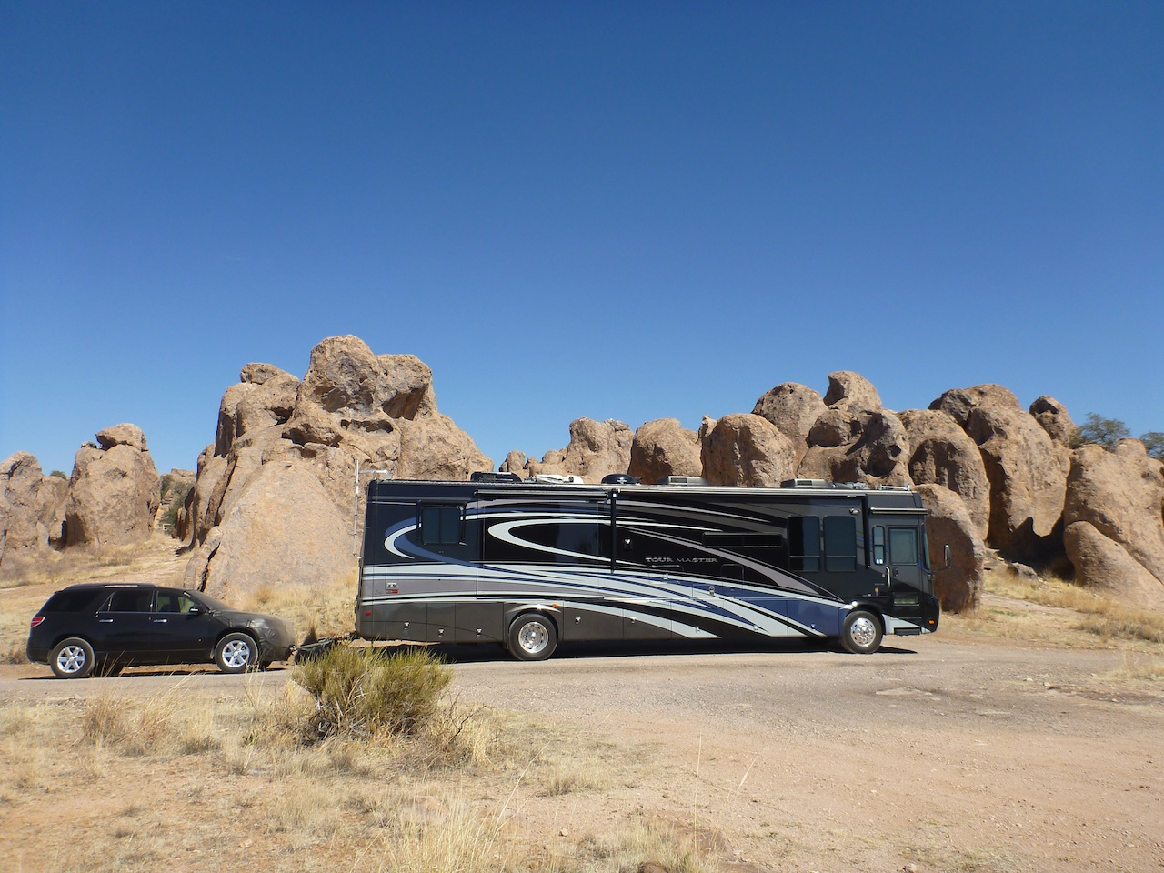 Our Coach At The City Of Rocks State Park