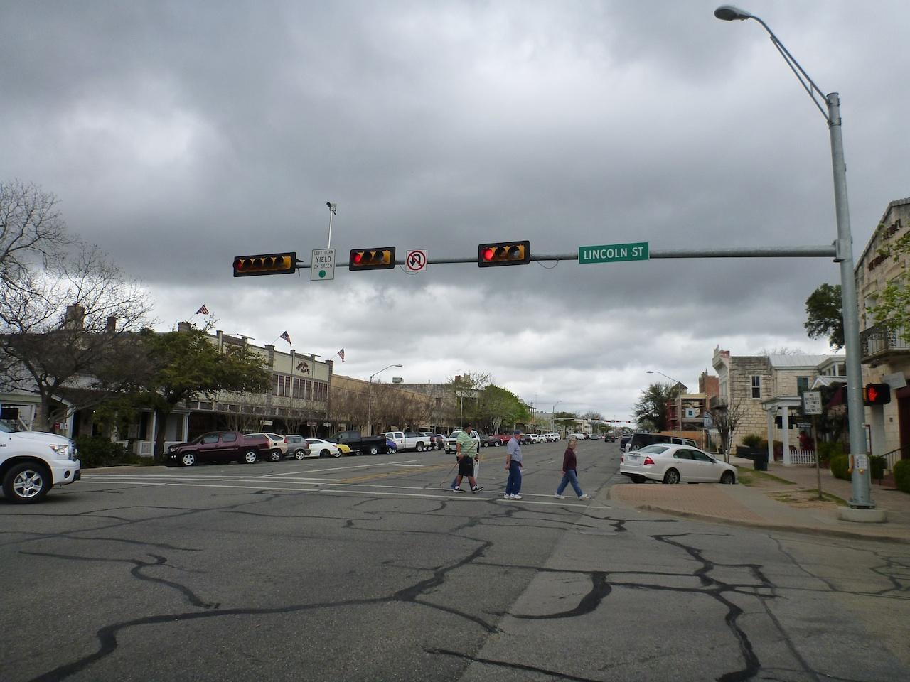 Fredericksburg, TX Main Street