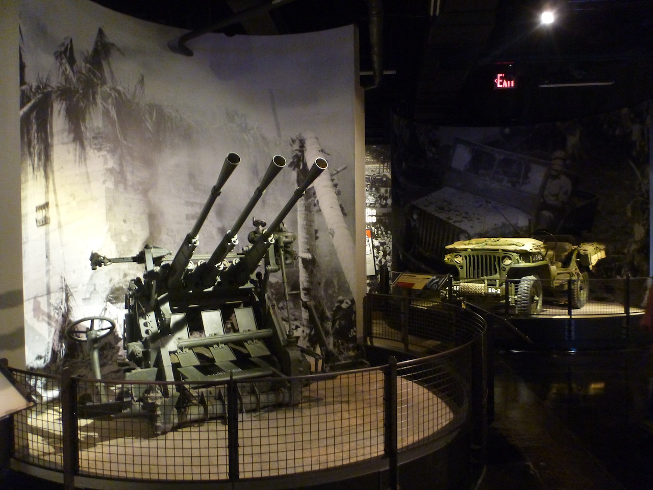 Some Machinery And Guns That Were Used During The War