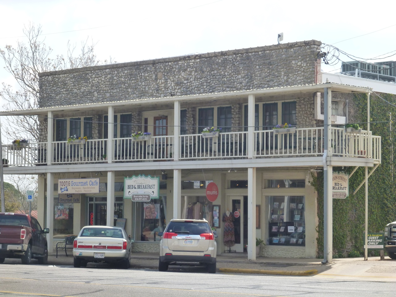 Fredericksburg, TX Main Street Buildings Are From The 1800's