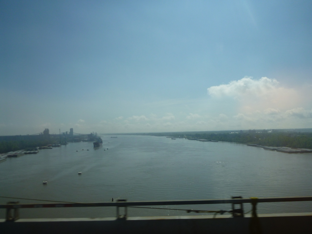 Passing Over A Waterway In Louisiana