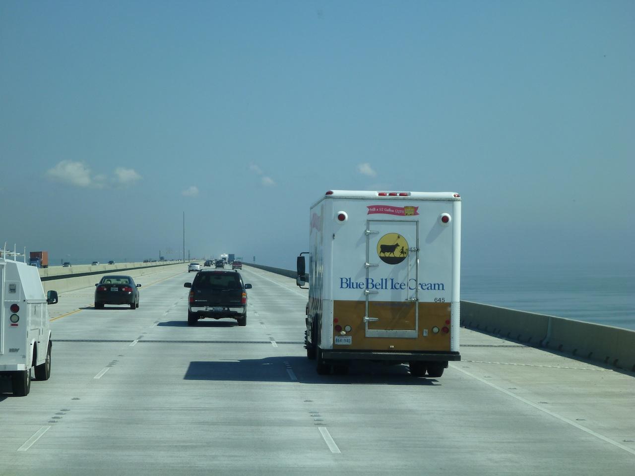 Follow That Blue Bell Truck!