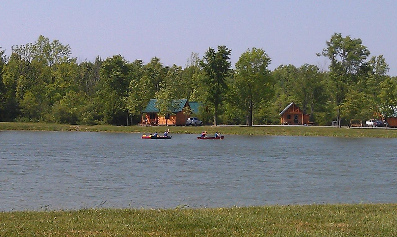 Kayaking And Canoeing At Campground
