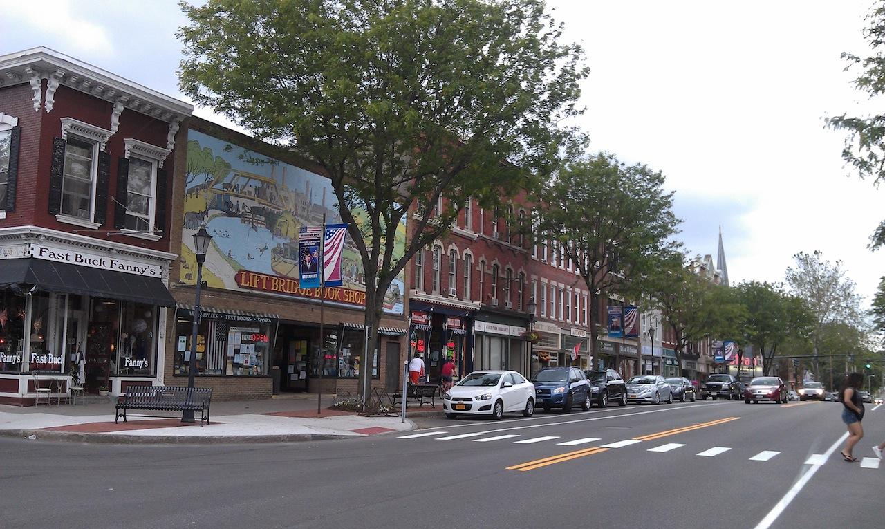 Main Street Of Brockport, NY