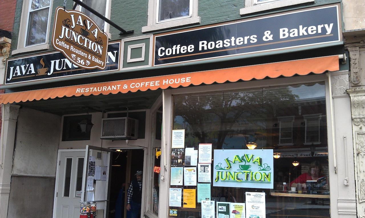 Java Junction On Main Street In Brockport, NY