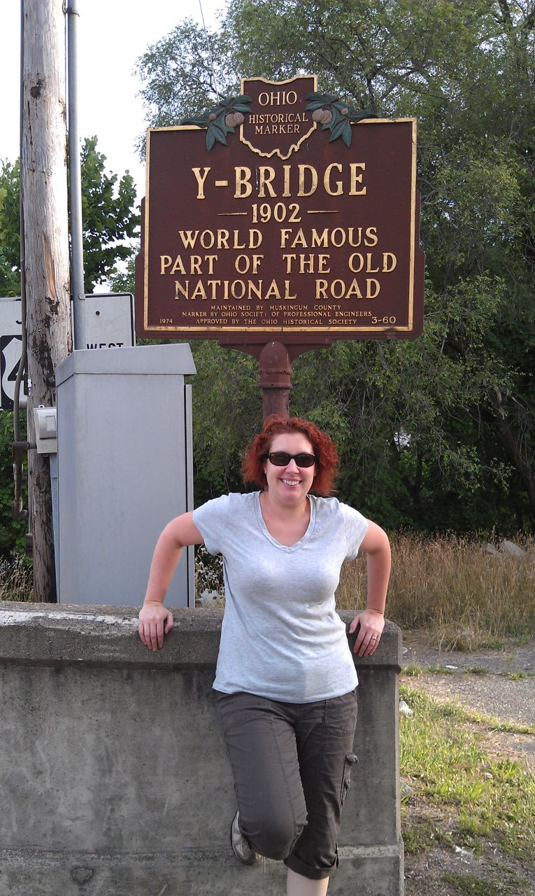 One Of The Official Historical Marker Signs For The Bridge