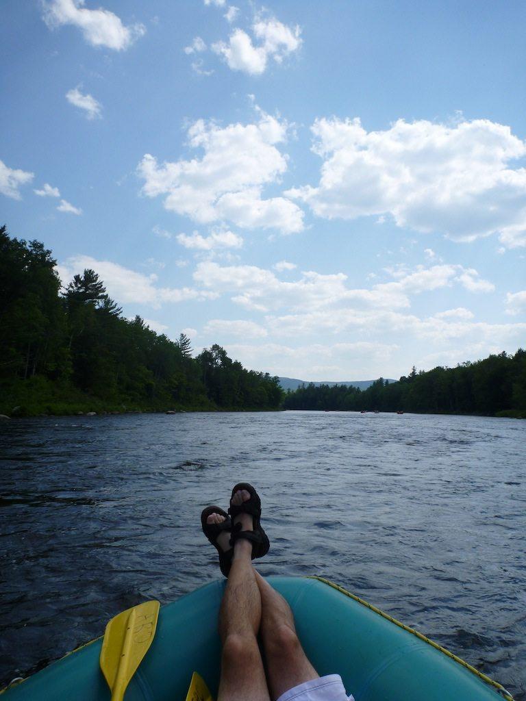 Joe Enjoying The Quieter Moment On The River
