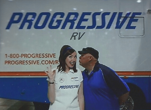 David With Flo From Progressive