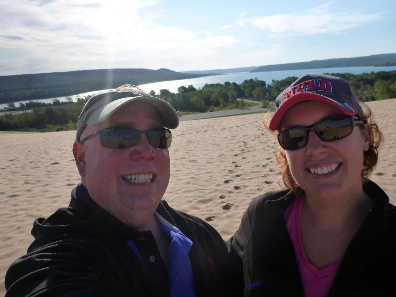 Here We Are At Sleeping Bear Dunes National Park In Michigan