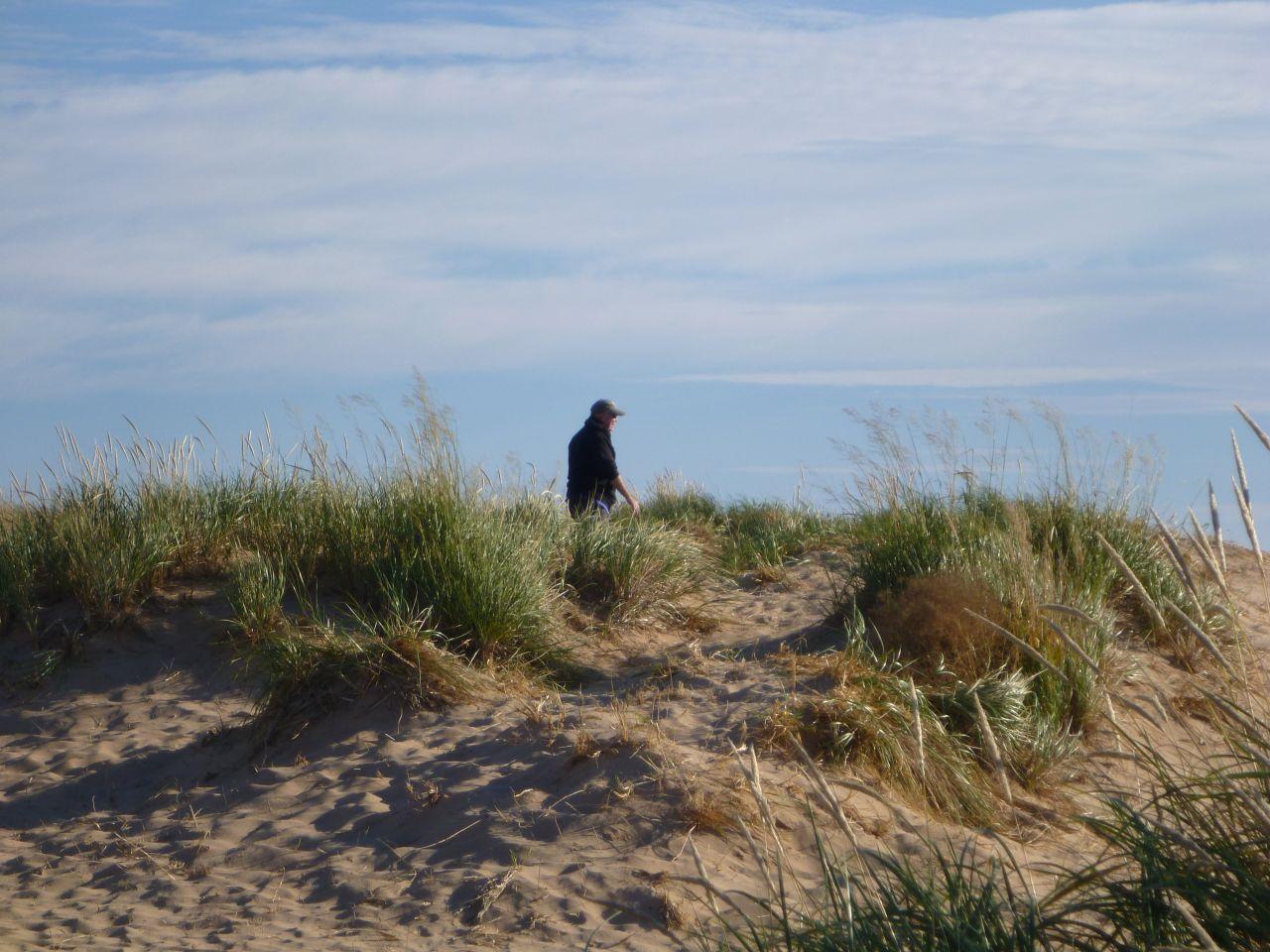 David Exploring The Dunes