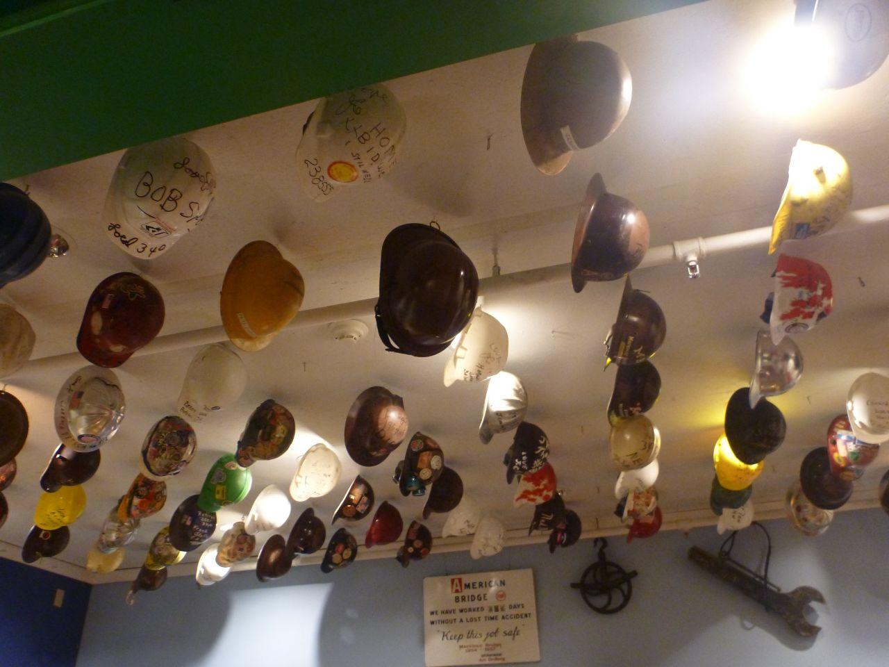 Part Of The Mackinac Bridge Museum In Mackinaw City, MI