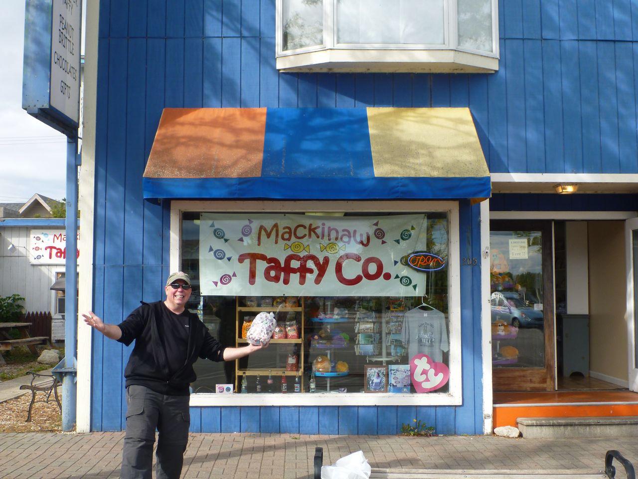 David Found The Taffy Shop!