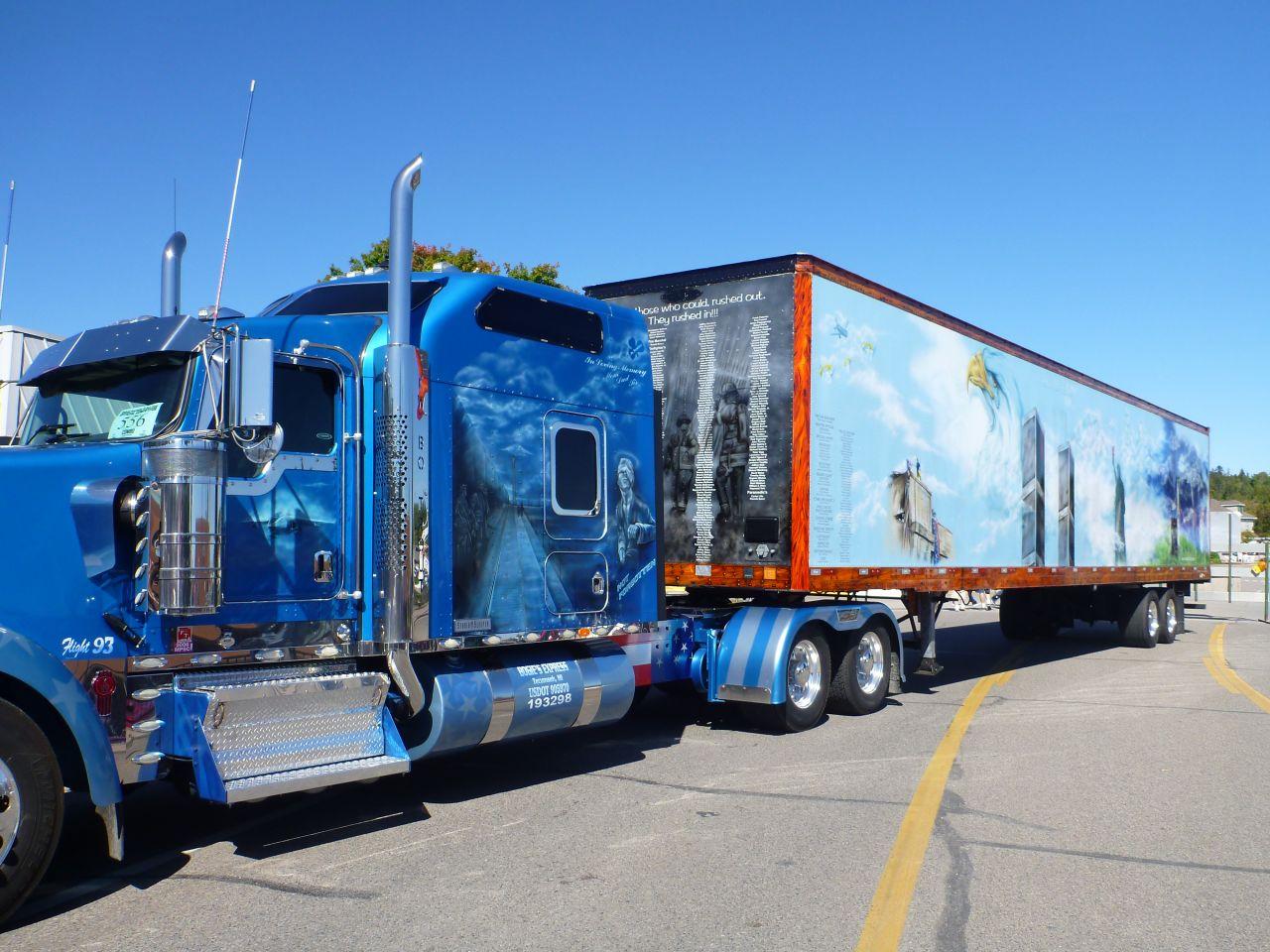 9/11 Memorial Truck