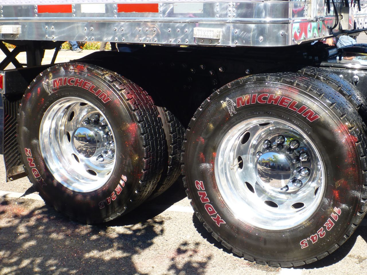 Glitter On The Tires To Dress Them Up.