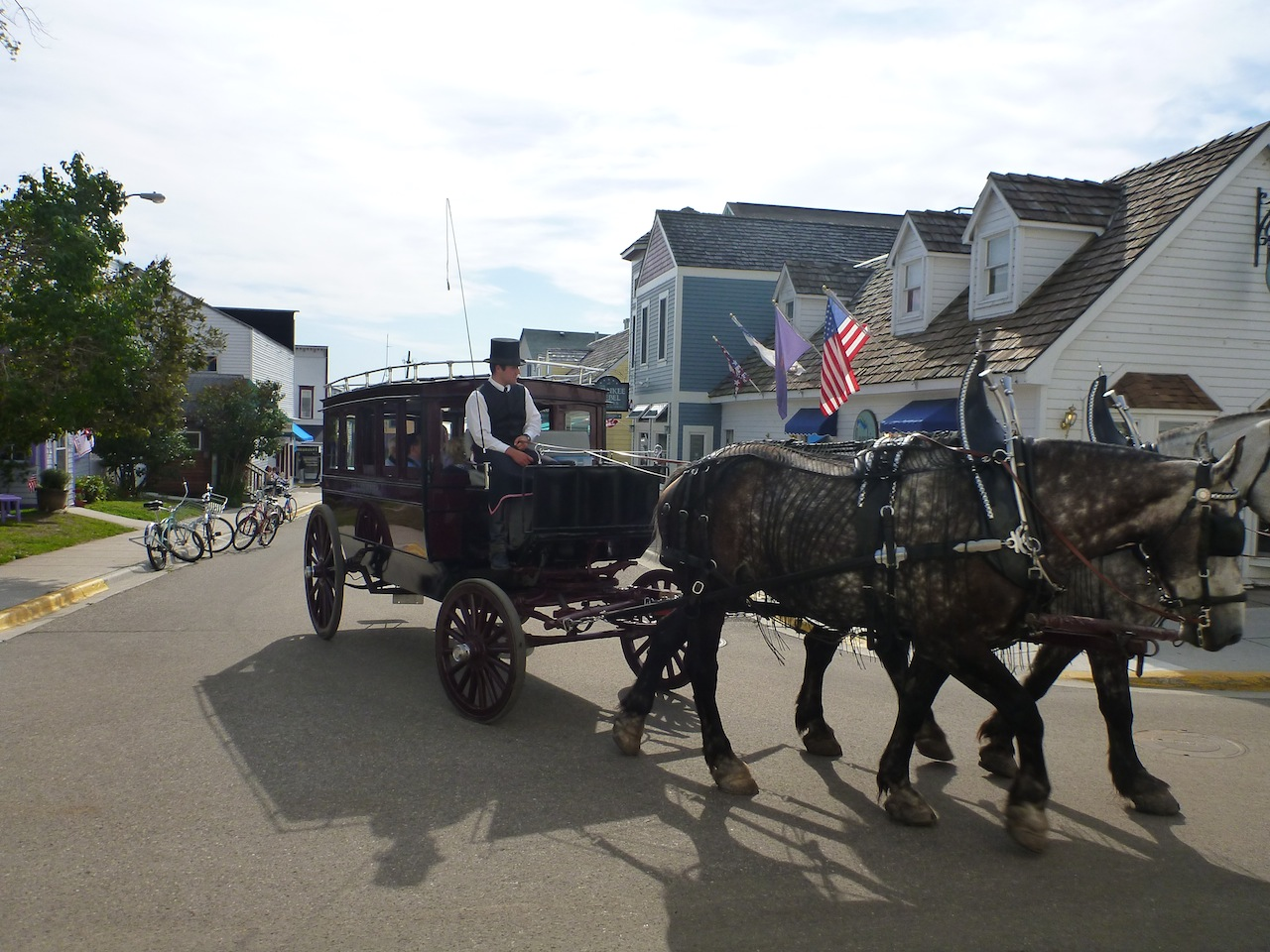 The Transportation To The Grand Hotel