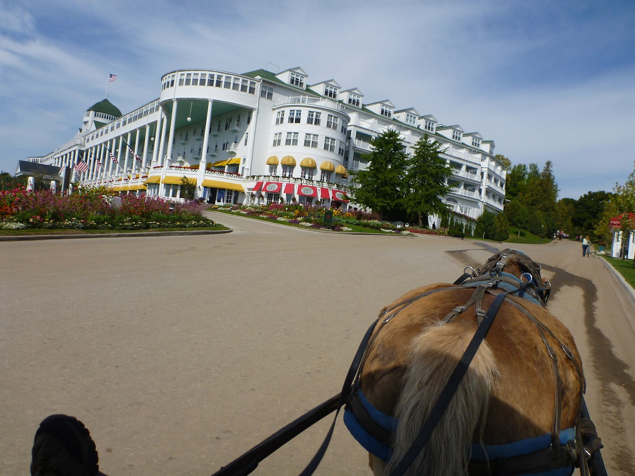Just Part Of The Grand Hotel On Mackinac Island