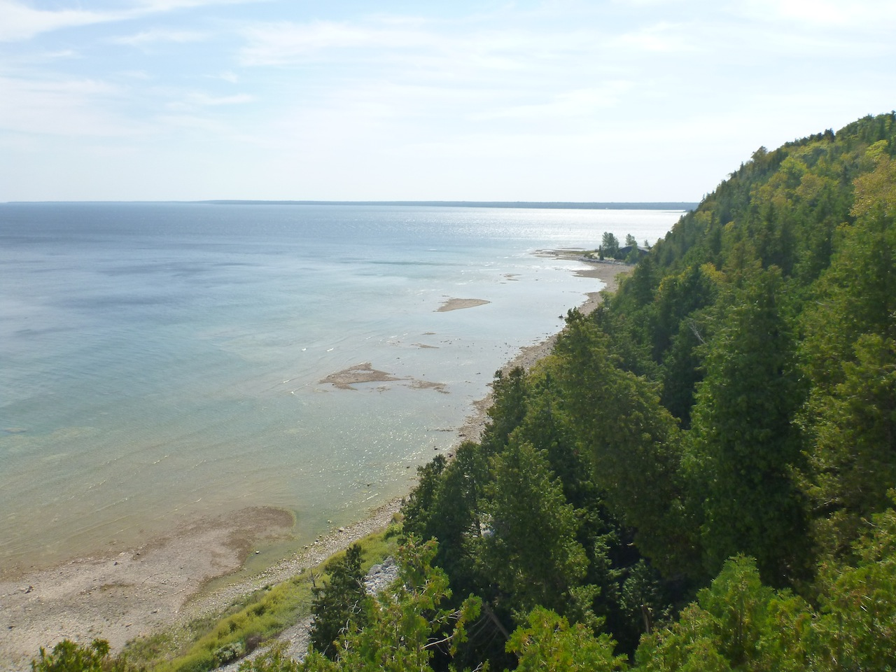 The View From The Top Walkway By Arch Rock