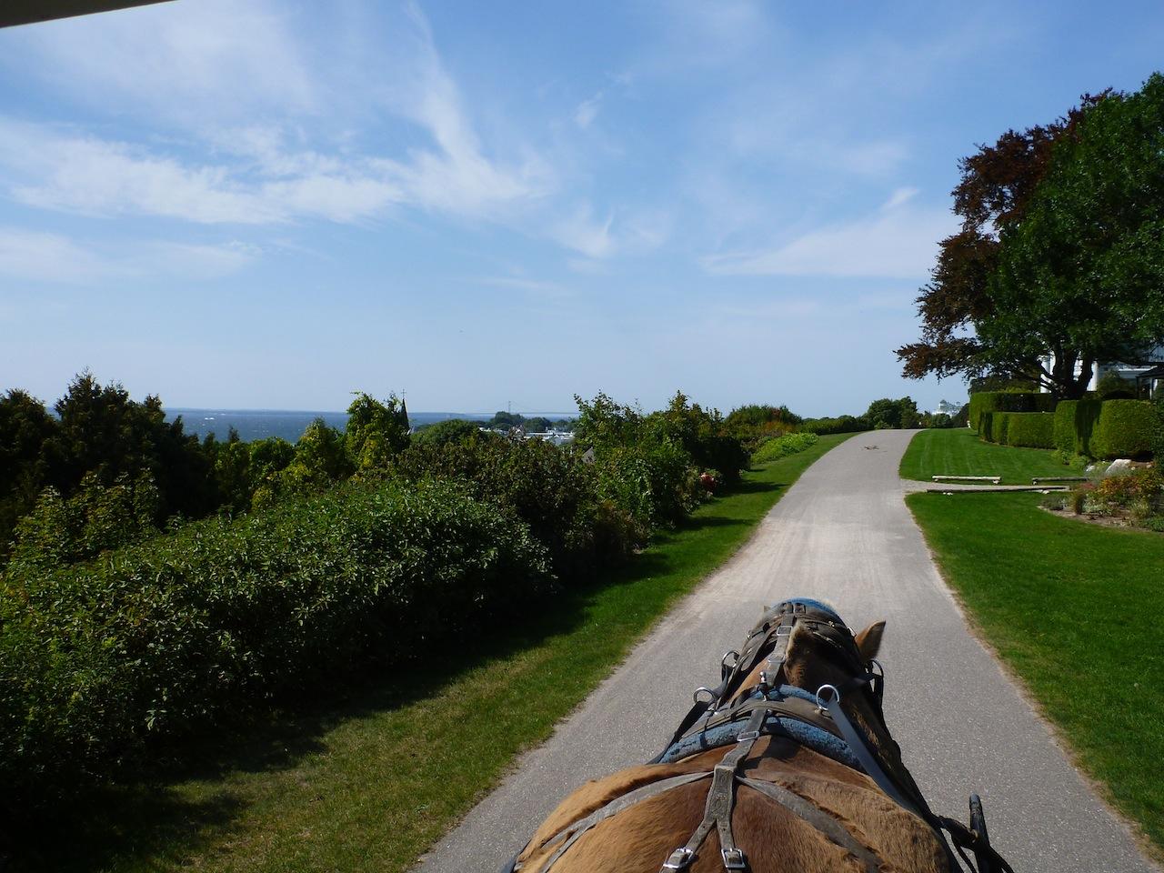 The Carriage Trail We Followed Around Mackinac Island