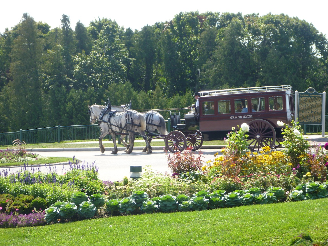 The Grand Hotel Horse And Carriage.