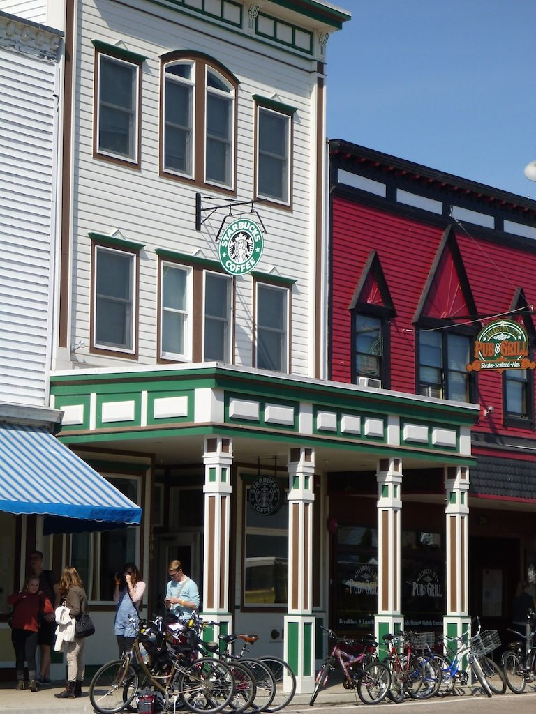 Starbucks On Mackinac Island