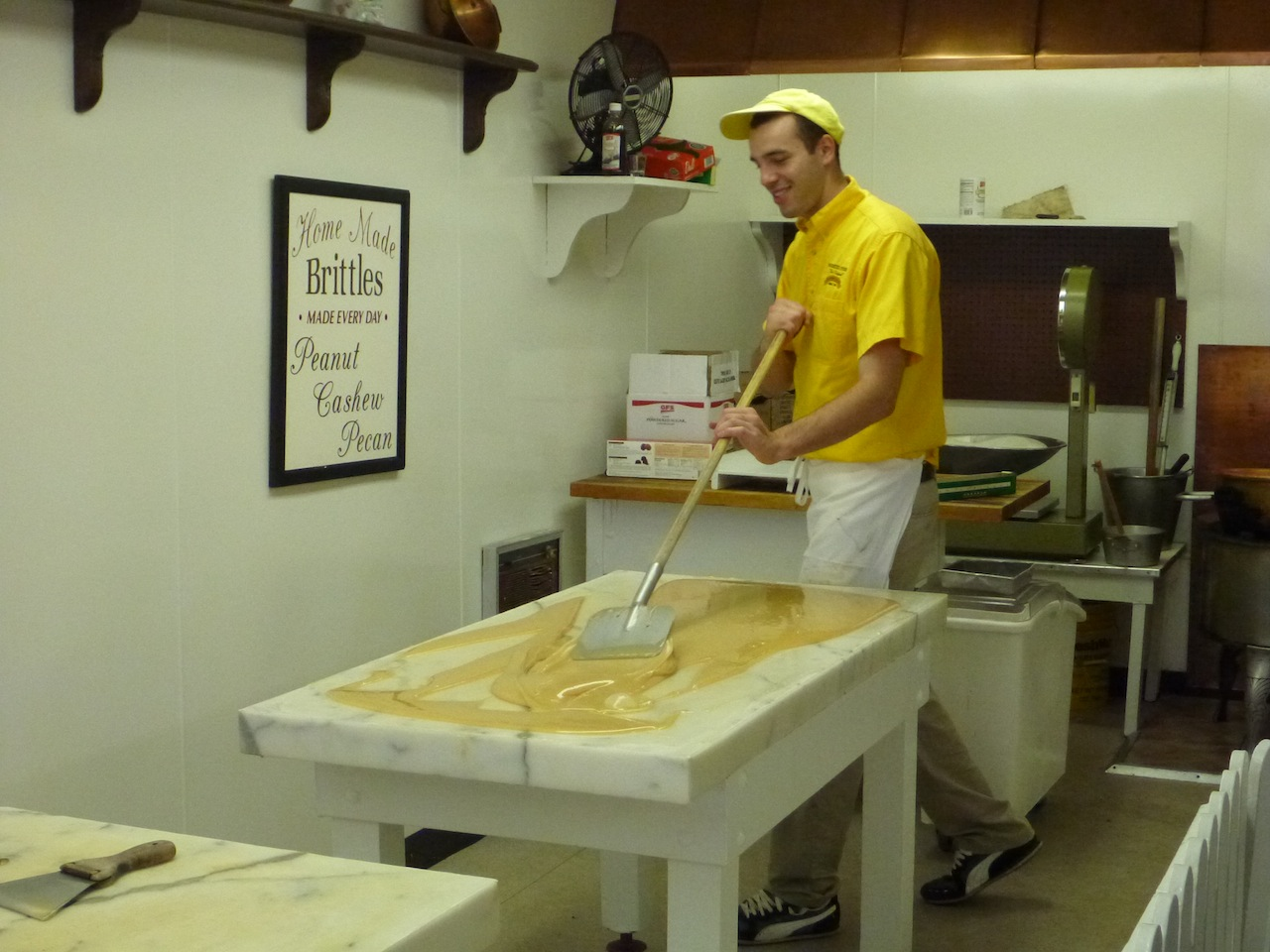 Making Fudge Right In Front Of You
