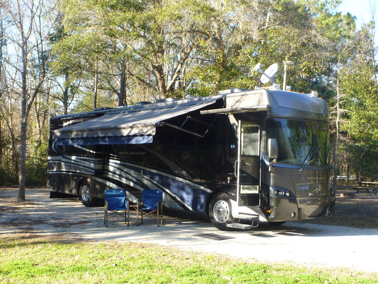 Our Site At The James Island County Park Campground
