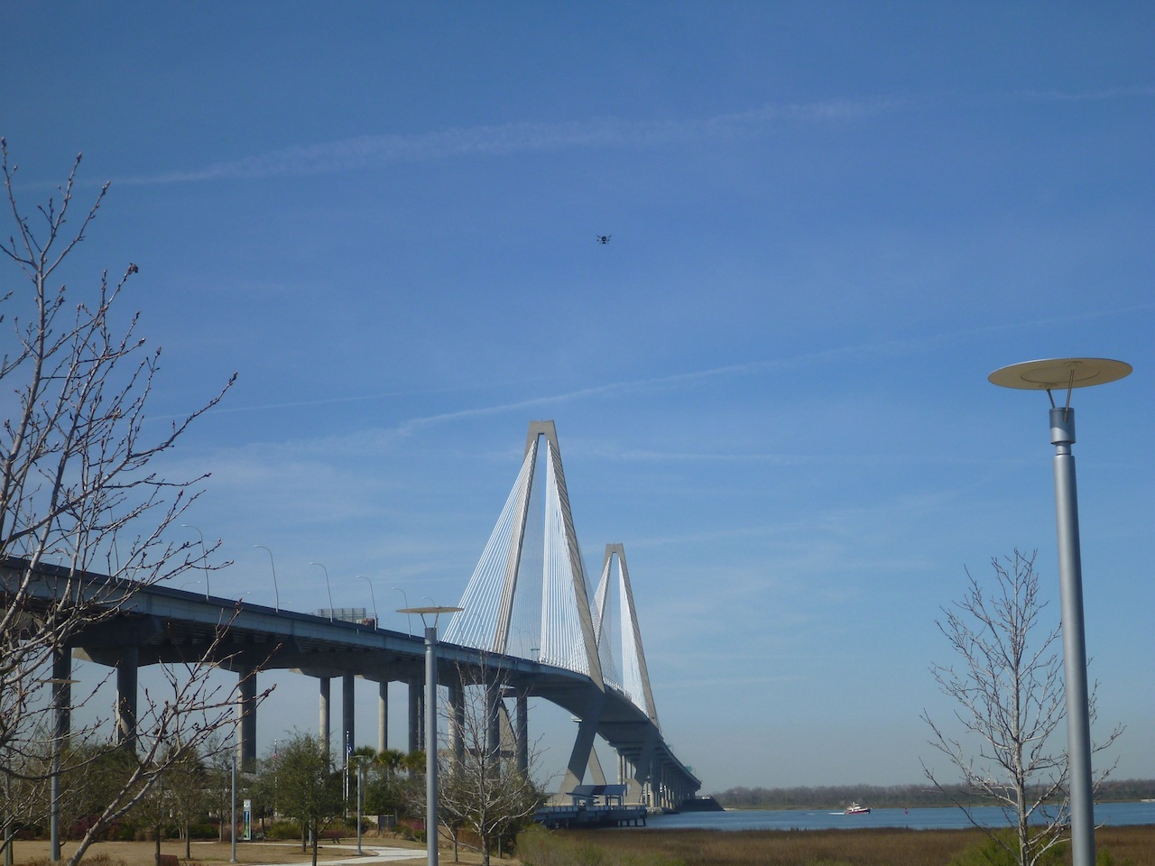 Arthur Ravenel Jr Bridge From Charleston To Mount Pleasant