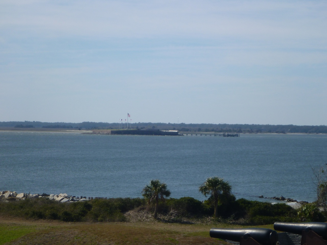Fort Sumter Across The Water