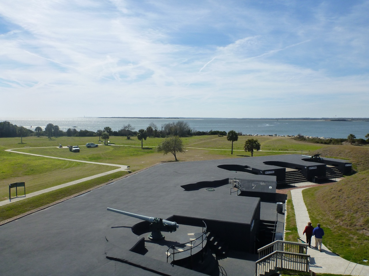 The Battery At Fort Moultrie