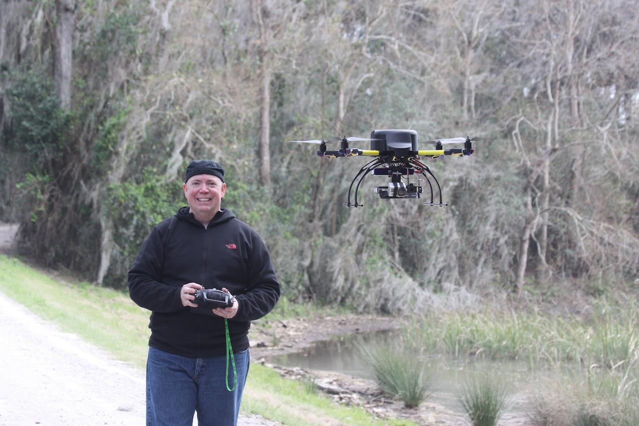 David and Quadcopter