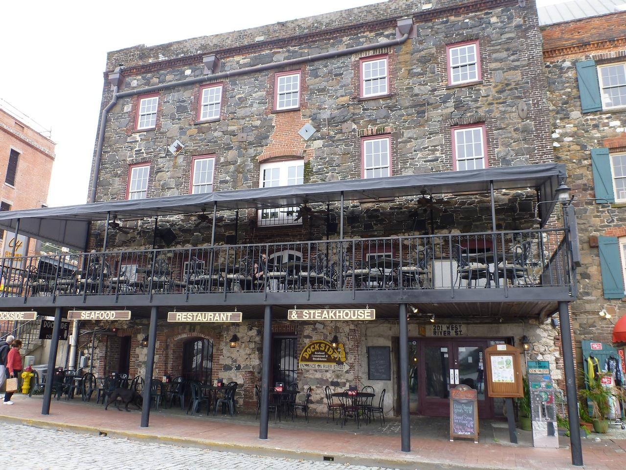 Dockside Restaurant On River Street