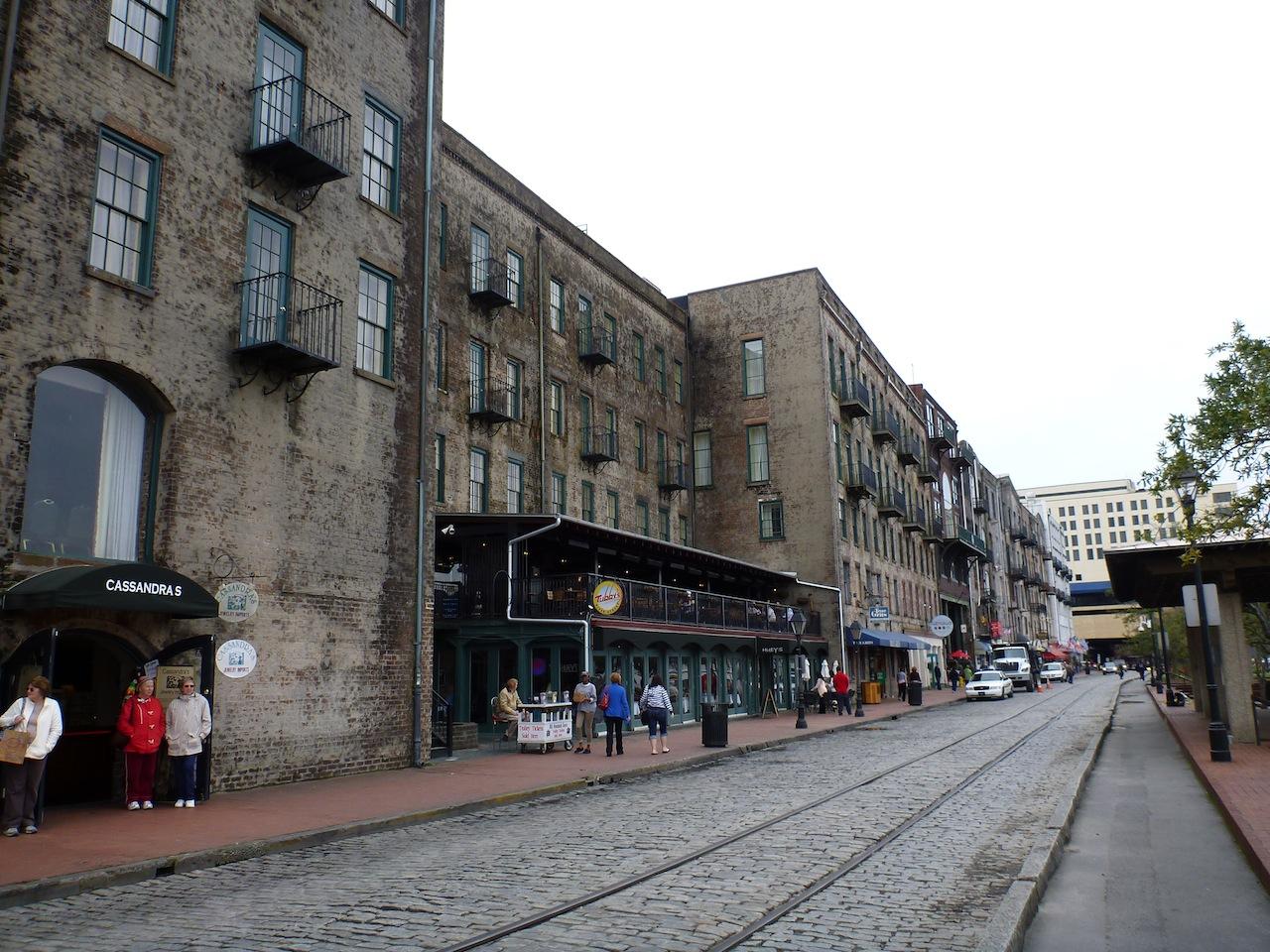 River Street In Savannah, GA
