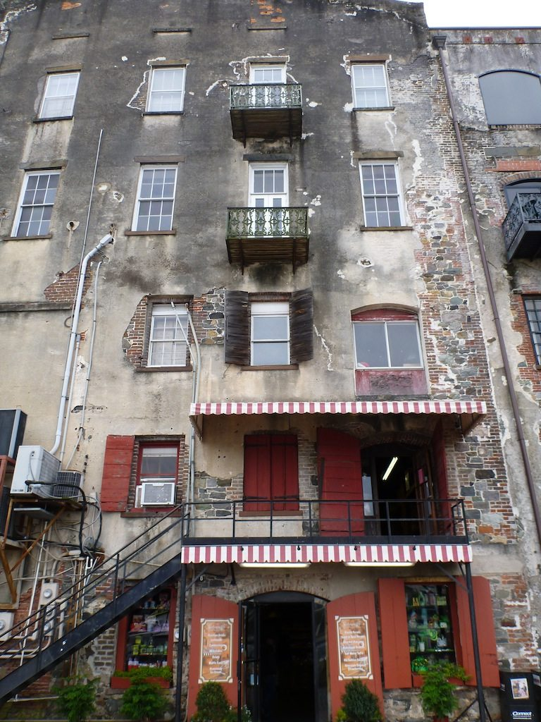 Some Of The Old Buildings On River Street