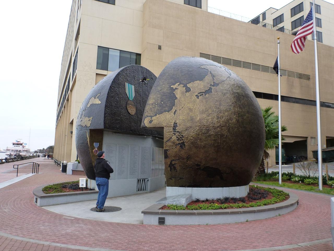 The WWII Globe Memorial